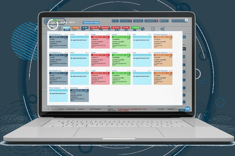Field Service Management Software - Live Panel